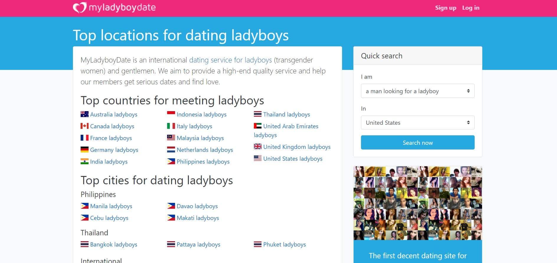 My Ladyboy Date História